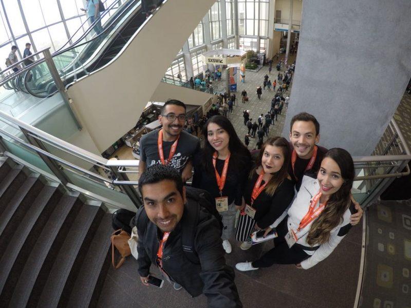 fotografía de equipo ilógica en SXSW
