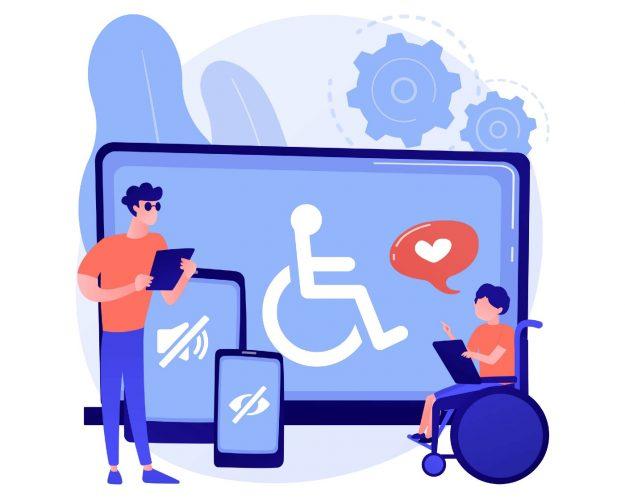 ilustración accesibilidad